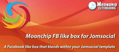 Moonchip FB like box for Jomsocial