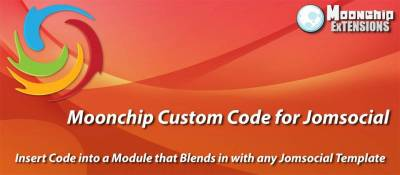 Moonchip Custom Code for Jomsocial