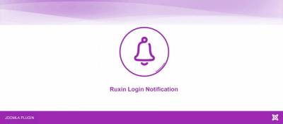 Ruxin Login Notification