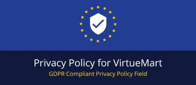 Privacy Policy for VirtueMart