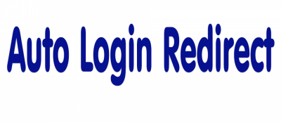 Auto Login Redirect