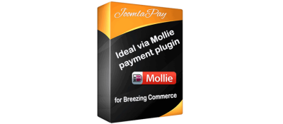 Ideal via Mollie payment for Breezing Commerce