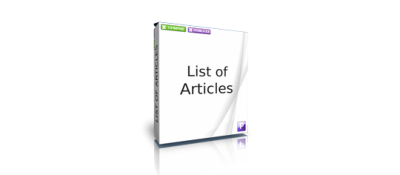 List of Articles in Content
