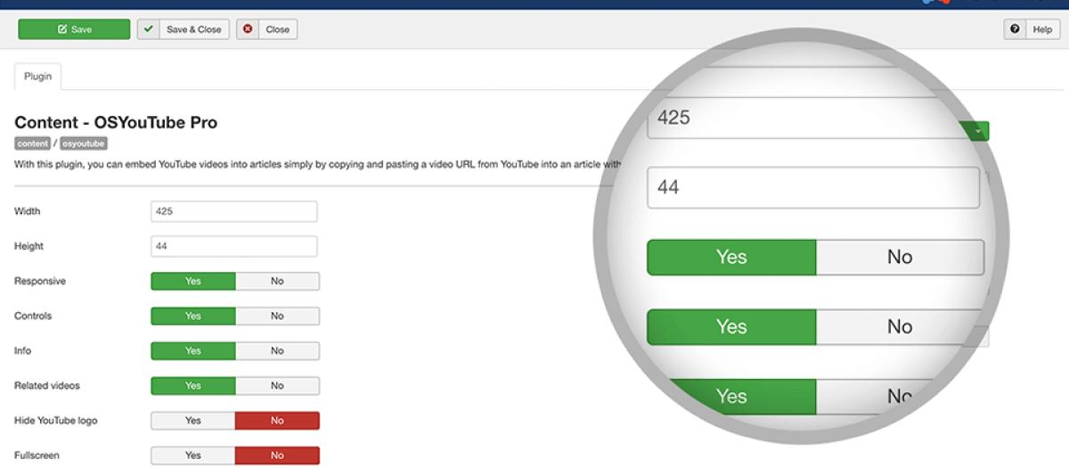 OSYouTube, by Joomlashack - Joomla Extension Directory