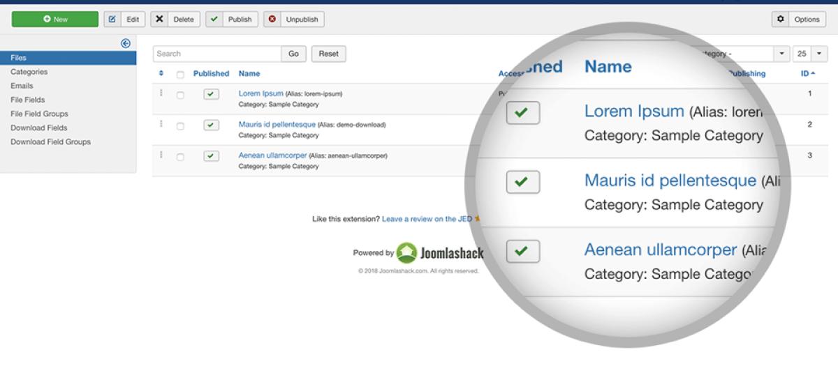 OSDownloads, by Joomlashack - Joomla Extension Directory