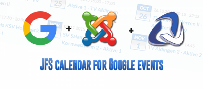 JFS calendar for Google events