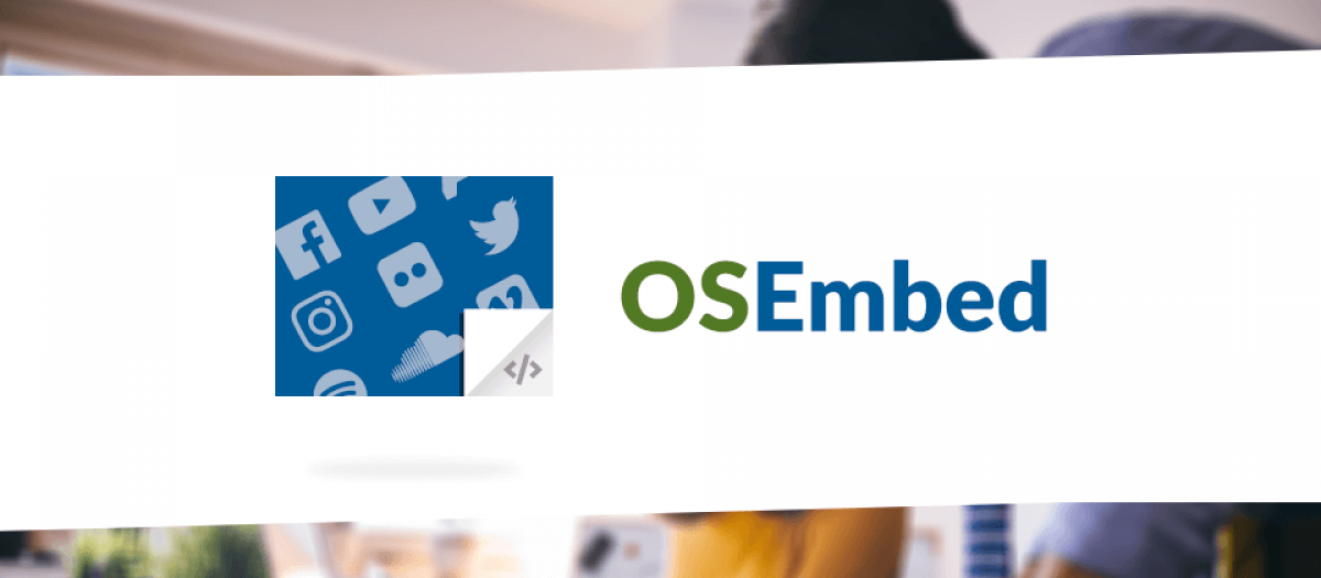 OSEmbed, by Joomlashack - Joomla Extension Directory