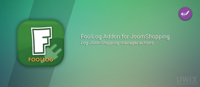 FoolLog Addon for JoomShopping