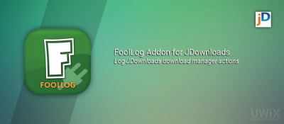 FoolLog Addon for JDownloads