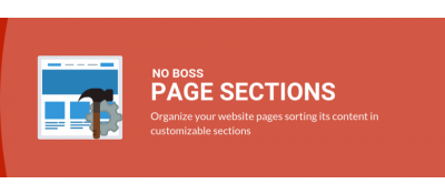 No Boss Page Sections