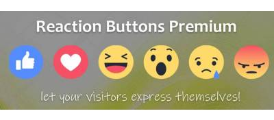 Reaction Buttons Premium