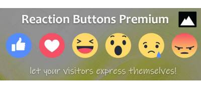 Reaction Buttons Premium for k2