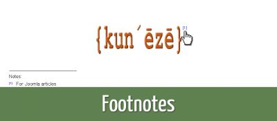 Footnotes