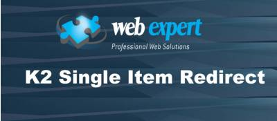 Single Item Redirect for K2