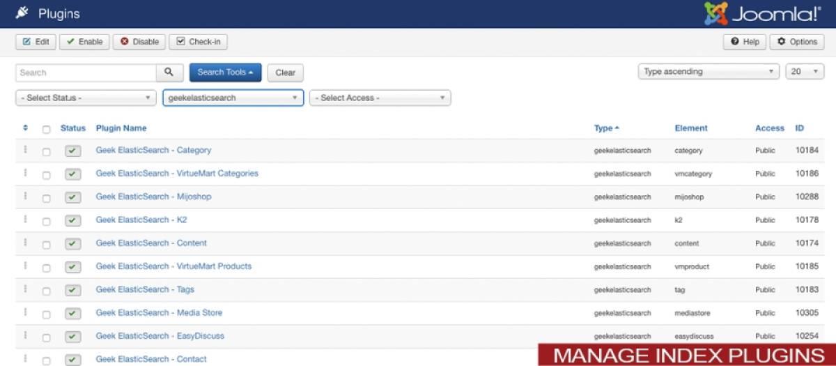 Geek Elasticsearch, by JoomlaGeek - Joomla Extension Directory