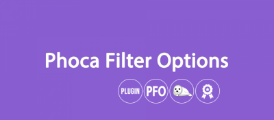 Phoca Filter Options