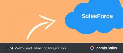 JS SF Web2Lead Hikashop Integration