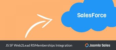 JS SF Web2Lead RSMemberships Integration