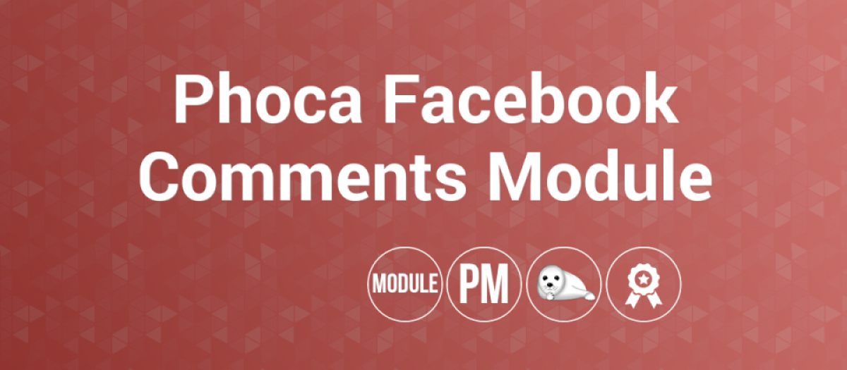 Phoca Facebook Comments, by Jan Pavelka - Joomla Extension