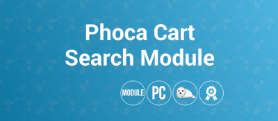 Phoca Cart Search