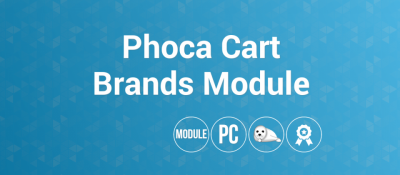 Phoca Cart Brands