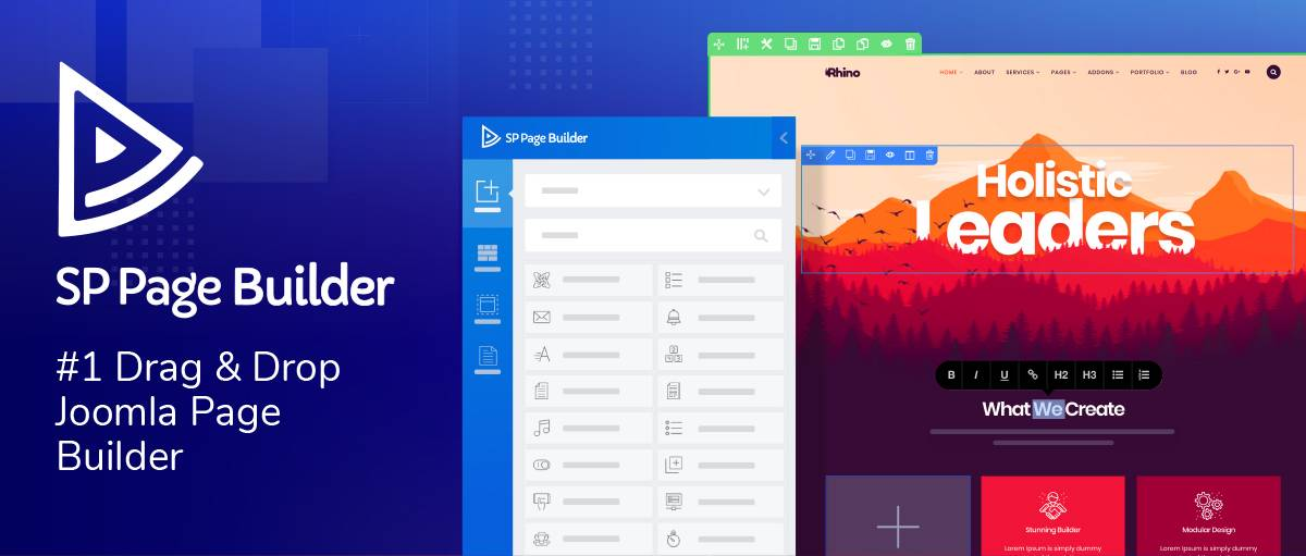 SP Page Builder, by JoomShaper - Joomla Extension Directory