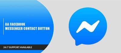 AA Facebook Messenger Contact Button