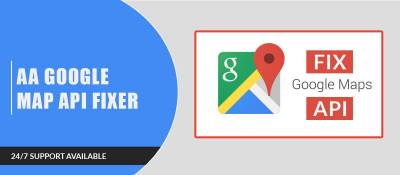 AA Google Map Api Fixer