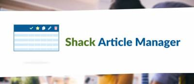 Shack Article Manager