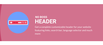 No Boss Header