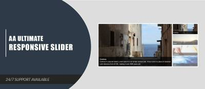 AA Ultimate Responsive Slider