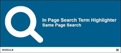 In Page Search Term Highlighter