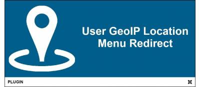 User GeoIP Location Menu Item Redirect