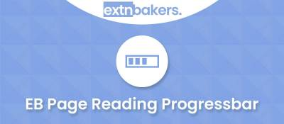 EB Page Reading Progressbar