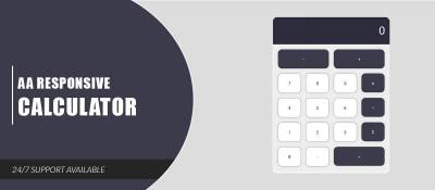 AA Responsive Calculator