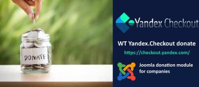 WT Yandex.Checkout donate