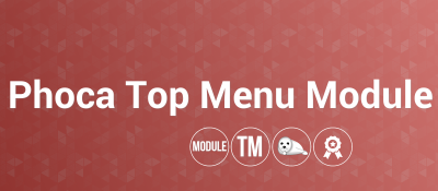 Phoca Top Menu