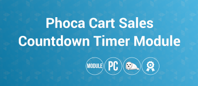 Phoca Cart Sales Countdown Timer