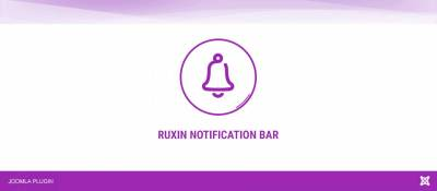 Ruxin Notification Bar