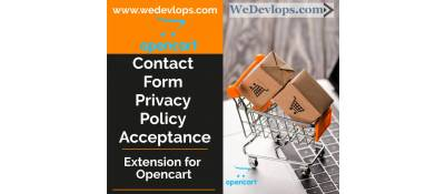 Contact form added acceptace of Privacy and Policy