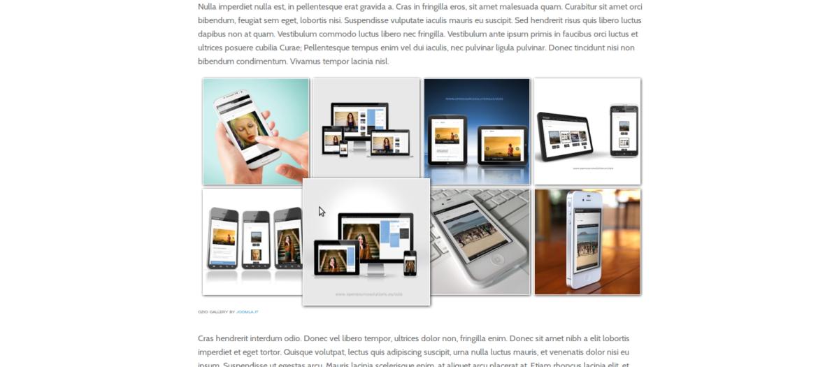 Ozio Gallery, by Alexred - Joomla Extension Directory
