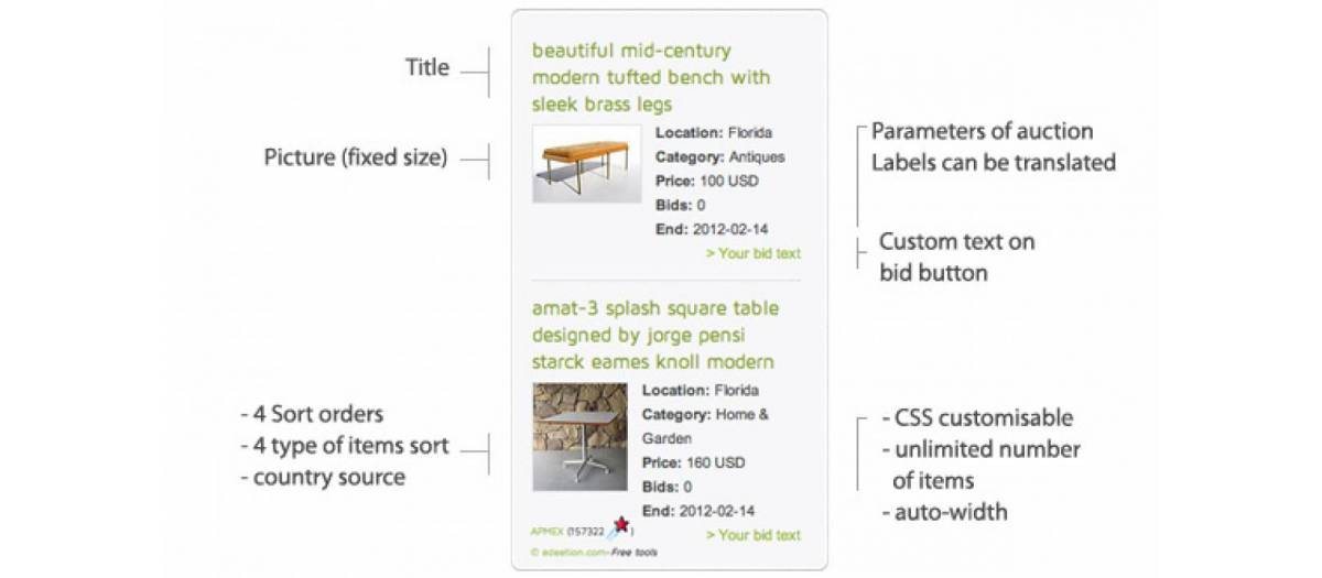 eBay store, by Chris - Joomla Extension Directory
