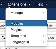 joomla switch module position